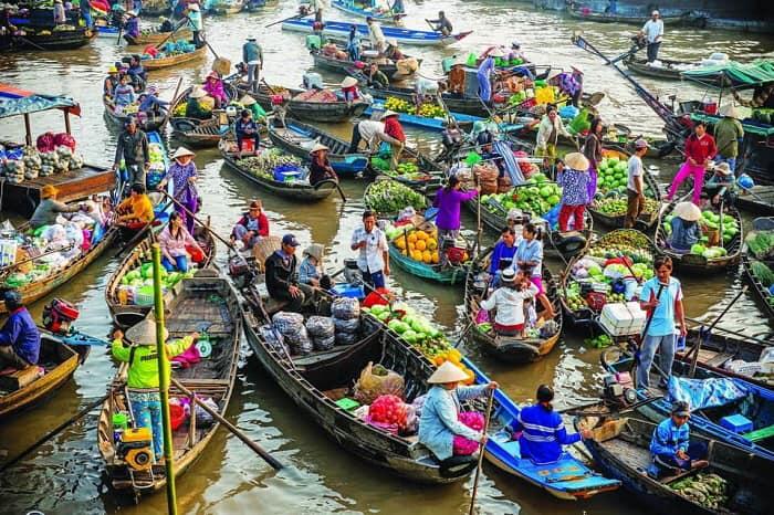 Văn hóa Chợ Cái Răng - di sản văn hóa phi vật thể quốc gia