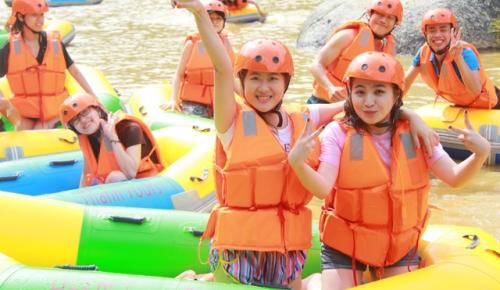 Tour Đà Nẵng đi trượt thác Hòa Phú Thành